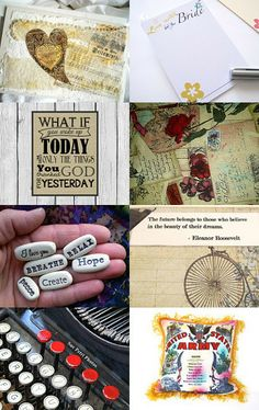 Power of the Written Word by Paula on Etsy--Pinned with TreasuryPin.com