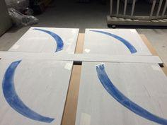 White Velvet marble. A swimming pool application