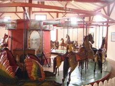... of my love for history, I had to visit the Flying Horses Carousel
