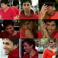 Enrique Iglesias sexy in red.