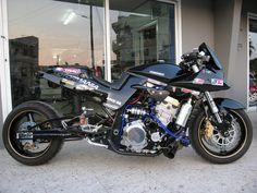 suzuki gs 1100 katana custom - Google Search Custom Street Bikes, Custom Sport Bikes, Custom Motorcycles, Street Fighter Motorcycle, Suzuki Motorcycle, Drag Bike, Suzuki Bikes, Suzuki Gsx, Gsxr 1100