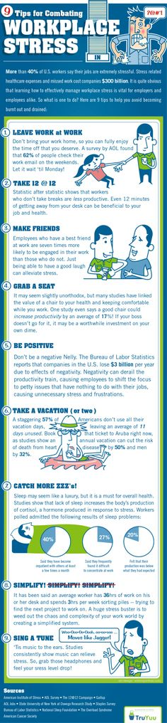 Fighting Workplace Stress? Here Are 9 Good Tips To Help Get You Started http://www.ccrola.com/