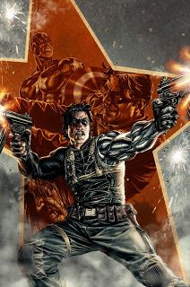 Marvel Comics has announced an ongoing Winter Soldier series by Ed Brubaker and Butch Guice to launch in February with covers by Lee Bermejo. Comic Book Artists, Comic Book Characters, Marvel Characters, Comic Books Art, Comic Art, Marvel Villains, Marvel Comics, Marvel Dc, Winter Soldier Bucky
