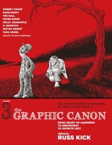 The Most Beautiful Book of 2013: 'The Graphic Canon, Volume 3,' selected as one of the best books of the summer by PW, is 500 pages of classic 20th-century literature reimagined graphically by 70+ artists. It's the most beautiful book of the year. Still need proof? Check out 15 of the book's images below, explained by editor Russ Kick.
