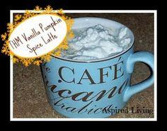 Aspired Living: Trim Healthy Mama Menu Plan: Vanilla Pumpkin Spice Latte (FP)