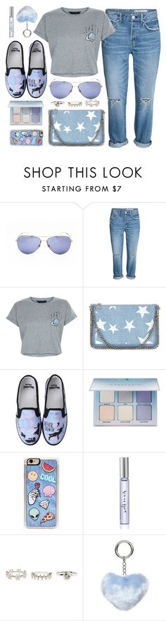 """""""Universe"""" by monmondefou ❤ liked on Polyvore featuring Gucci, New Look, STELLA McCARTNEY, Disney, Anastasia Beverly Hills, Zero Gravity, Kate Spade, Dorothy Perkins and Blue"""