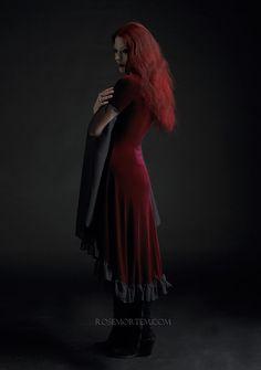 Liliana Gothic Dress / Fairy Dress in Velvet - Custom Romantic Gothic Clothing (more colors) on Etsy, $199.00