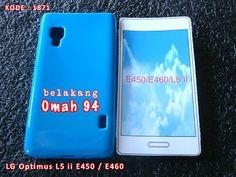 Kode Barang 1871 Jual Silikon Soft Case LG Optimus L5 ii Dual E450 E460 Biru (Blue) | Toko Online Rame - rameweb