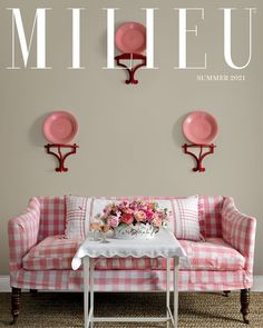 Shop the pages of MILIEU with direct links to the furnishings, objects and accessories our editors' feature in each issue | MILIEU Summer 2021 Cover