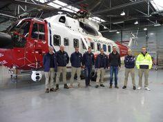 Helders afscheid Bristow SAR helikopter