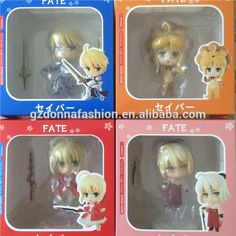 4 style Fate stay nigh cute Saber PVC figure, View Fate Stay Night, donnatoyfirm Product Details from Guangzhou Donna Fashion Accessory Co., Ltd. on Alibaba.com
