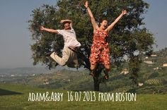Adam & Abby-16-07-2013 from boston jump for forestaria farm in lucca tuscany