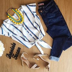 Shop sexy club dresses, jeans, shoes, bodysuits, skirts and more. Trendy Outfits, Fall Outfits, Summer Outfits, Peplum Shirts, Casual Jeans, Cuffed Jeans, Jeans Skinny, Look Chic, Mode Inspiration