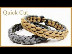 "Paracord Bracelet: ""Insignia"" Bracelet Design Without Buckle - YouTube"