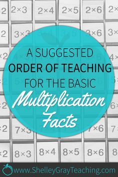 Multiplication facts can be difficult to learn, and difficult to teach. Luckily, there are strategies that we can use to help us teach the multiplication facts more effectively so that every student can be successful.