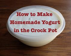 Make your own YOGURT, and you won't have to TAKE OUT A MORTGAGE to keep up with your yogurt cravings!!!  You can make a GALLON of yogurt from a gallon of milk and a cup of yogurt!!!