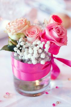 Mariage {Marine & Christophe} décoration mariage rose, photographe Fairy Daily,