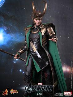 The Avengers Movie | Hot Toys: The Avengers – Loki