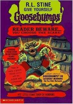 Little Comic Shop of Horrors (Give Yourself Goosebumps, Book 17)
