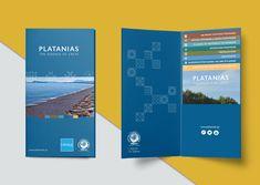 Folder design for municipality of Platanias - Chania