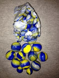 Marble King CUB SCOUT MARBLES W/CULLET!