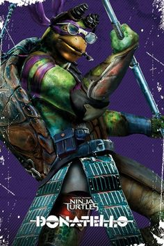 Teenage Mutant Ninja Turtles - Donatello Pose - Official Poster. Official Merchandise. Size: 61cm x 91.5cm. FREE SHIPPING