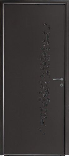 porte mixte porte entree bel 39 m classique poignee plaque gris deco bel 39 m sans vitrage. Black Bedroom Furniture Sets. Home Design Ideas