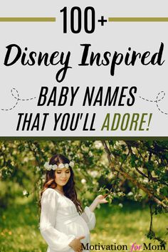 This is the ultimate list of Disney baby names. With over 100 baby names Inspired by Disney characters, you will have a ton of ideas for baby names to choose from. This list is perfect for the disney lovers who are at that stage of pregnancy, and trying to choose a baby name for their new little bundle of joy. This list is full of baby girl names and baby boy names, all from disney movies, from A-Z! #disney #babynames #disneybabynames #disneyispiration #babygirlnames #babyboynames Disney Baby Names, Baby Girl Names, Boy Names, Baby Boy, Different Baby Names, Unusual Baby Names, Gender Neutral Names, Disney Movies, Disney Characters