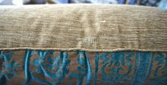 Fortuny farnese frieze pillows, fortuny