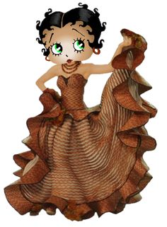 betty boop...love the dress Betty