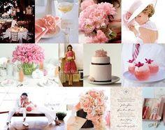 Wedding, Flowers, Reception, Pink, Decor @ www.projectwedding.com