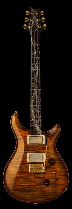 Paul Reed Smith Tree of Life Custom 24 Black Gold Smokeburst Prs Guitar, Music Guitar, Guitar Amp, Cool Guitar, Playing Guitar, Acoustic Guitar, Guitar Body, Guitar Pics, Paul Reed Smith