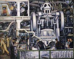 Detroit Industry Fresco Diego Riviera