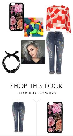 """Untitled #66"" by mirelazenunovic on Polyvore featuring Melissa McCarthy Seven7, New Look and plus size clothing"