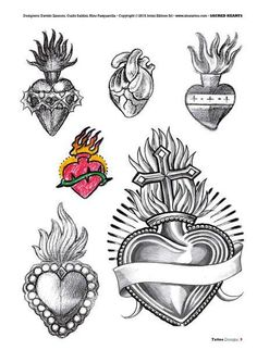 69 ideas tattoo heart sacred tat for 2019 Tattoo Sketches, Tattoo Drawings, Trendy Tattoos, Tattoos For Guys, Sagrado Corazon Tattoo, Coeur Tattoo, Sacred Heart Tattoos, Logos Retro, Vintage Logos