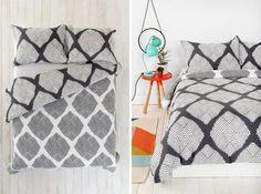 Diamond Tile Duvet Cover   20 Comforters + Duvet Covers That Won't Break the Bank