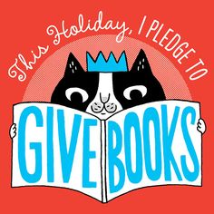 """San Francisco book publisher Chronicle Books has kicked off an amazing """"Give Books"""" campaign with the goal of donating books this holiday season to children in need. Find out how you can help. I Love Books, Books To Read, Photoshop, Children In Need, Book Nooks, So Little Time, Book Quotes, Book Lovers, Childrens Books"""