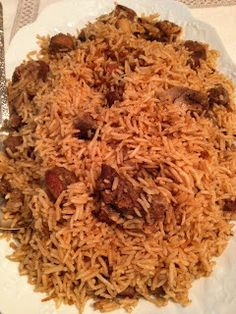Pulao is of Persian origin .Mutton is cooked in water with aromatic spices. Once the meat is done, rice and more water were added to finish cooking.