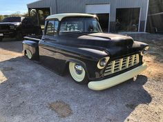 is locked and loaded. Headed to with his GSI chassis equipped Chevy. Be sure to go find this coffee colored… Lifted Chevy Tahoe, 55 Chevy Truck, Chevy Duramax, Chevy Stepside, Chevy Pickups, Chevy Silverado, Dually Trucks, Chevy Pickup Trucks, Classic Chevy Trucks