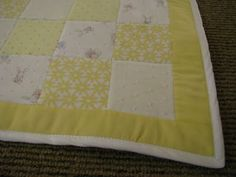 NeverEver: How to Make a Patchwork Baby Quilt: Part Two