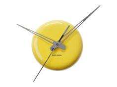Karlsson :: Zegar ścienny Ceramic Dot Yellow