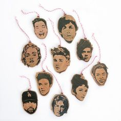 Celebrity Ornaments - $8