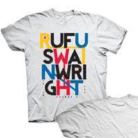 Summer 2012 Tour T-Shirt  Rufus Wainwright