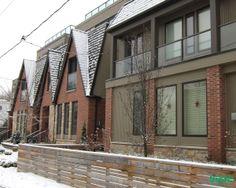 residences in leslieville Maple Tree, Famous Landmarks, Toronto, The Neighbourhood, Multi Story Building, Real Estate, Explore, Outdoor Decor, Home Decor