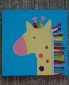 Image result for giraffe art project for kids
