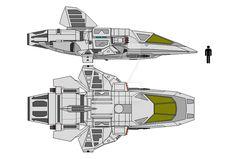Tieger-class Shuttle by ClefJ on DeviantArt