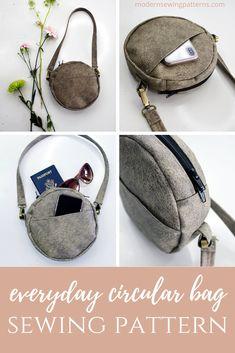 #sewing #sewingforbeginners #bagsewingpatterns #makeyourownbag #handmadebags #handmadepurses #sewingpattern #printablesewingpattern #crossbody #crossbodybag