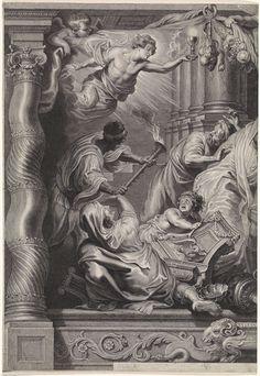 Verwoesting van de afgoderij, linker blad, Schelte Adamsz. Bolswert, 1596 - 1659