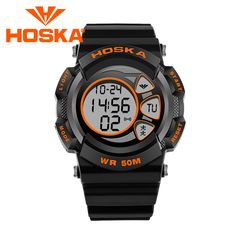 Brand HOSKA student kids Quartz watch watches boy sport digital watch girl sport LED digital-watch waterproof 50M small size. Yesterday's price: US $22.62 (18.70 EUR). Today's price: US $11.99 (9.92 EUR). Discount: 47%.
