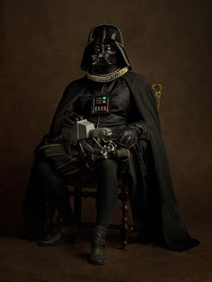 """Forsooth? No, for Sith!""  Superheroes Reimagined as 16th Century Paintings - My Modern Met"